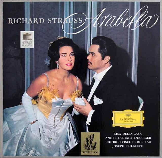 カイルベルトのR.シュトラウス/「アラベラ」全曲 独DGG 3319 LP レコード