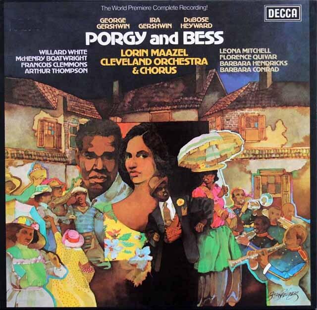 マゼールのガーシュウィン/「ポーギーとベス」 独DECCA 3319 LP レコード
