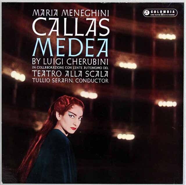 【オリジナル盤】 カラスのケルビーニ/歌劇「メデア」 英columbia 3319 LP レコード