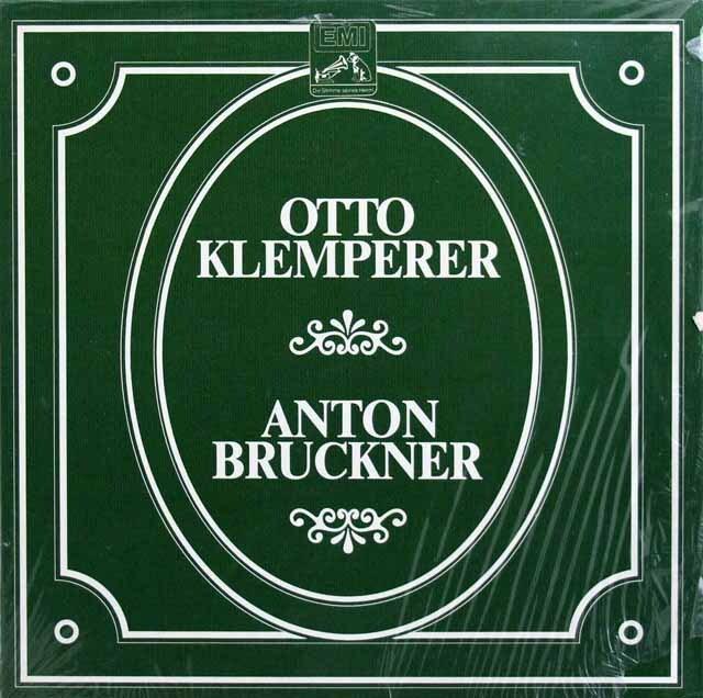 【未開封】 クレンペラーのブルックナー/交響曲選集(第4, 5, 6~9番) 独EMI 3319 LP レコード