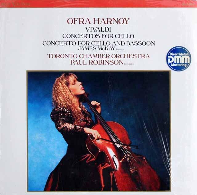 【未開封】 ハーノイのヴィヴァルディ/チェロ協奏曲集 英RCA 3320 LP レコード