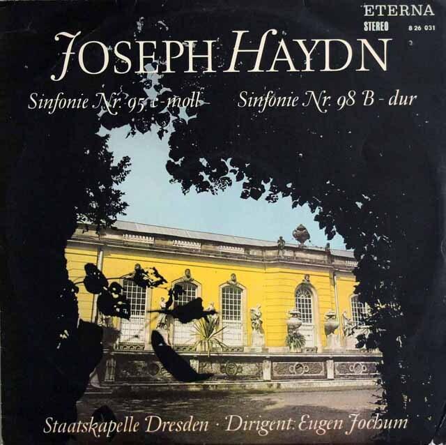 ヨッフムのハイドン/交響曲第95&98番 独ETERNA 3320 LP レコード