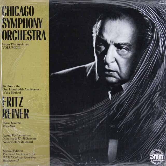 【未開封】 ライナーのベートーヴェン/交響曲第4番ほか 独CSO 3320 LP レコード