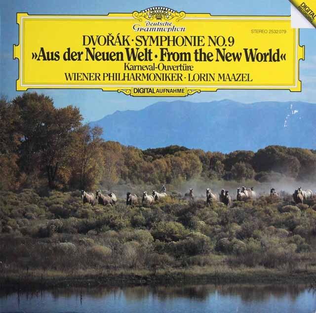 マゼールのドヴォルザーク/交響曲第9番「新世界より」 独DGG 3320 LP レコード
