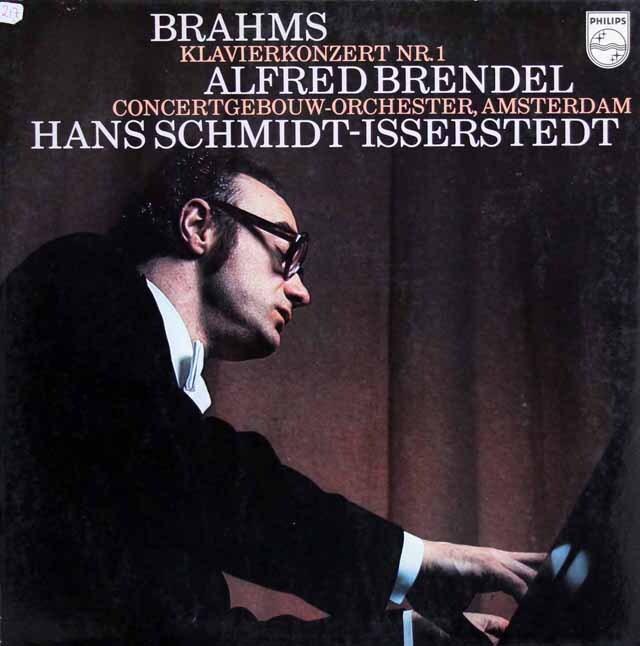ブレンデル&イッセルシュテットのブラームス/ピアノ協奏曲第1番 蘭PHILIPS 3320 LP レコード