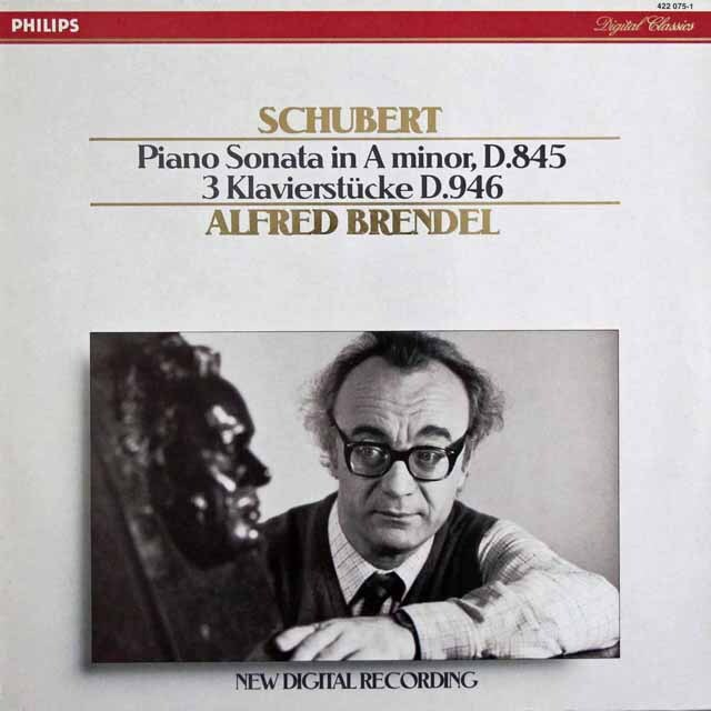 ブレンデルのシューベルト/ピアノソナタ第16番ほか 蘭PHILIPS 3320 LPレコード