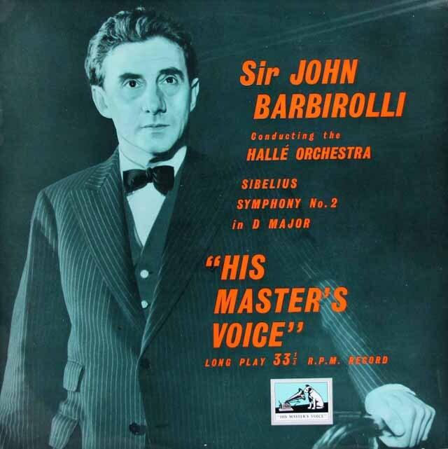 バルビローリのシベリウス/交響曲第2番 英EMI 3320 LP レコード