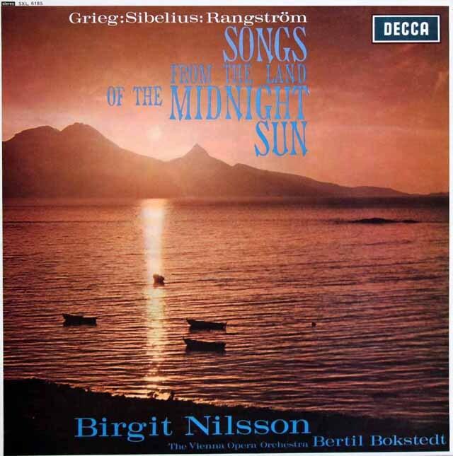 【オリジナル盤】 ニルソン/白夜の国の歌   英DECCA 3320 LP レコード