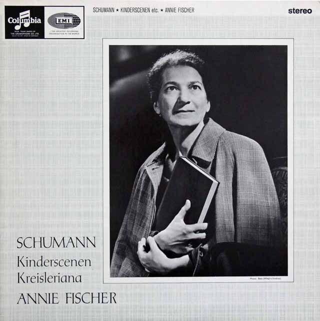 【オリジナル盤】 A.フィッシャーのシューマン/「子供の情景」&「クライスレリアーナ」 英Columbia 3320 LP レコード