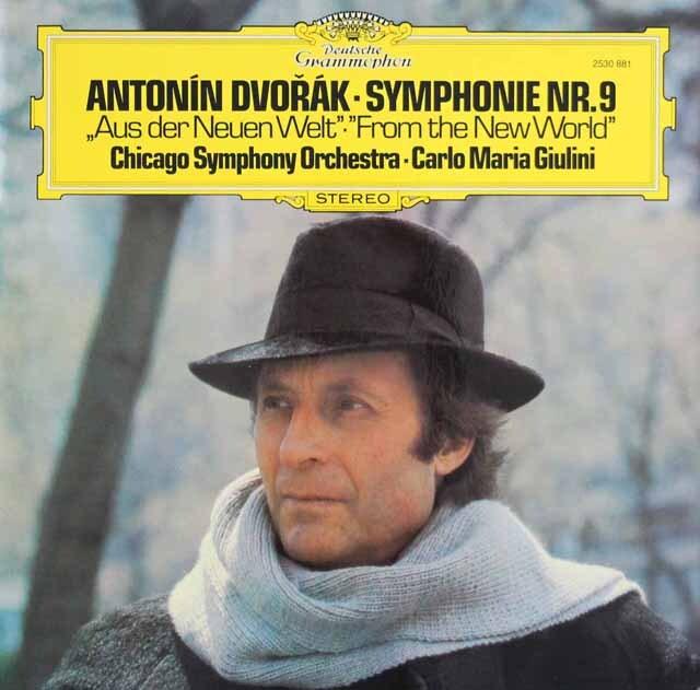 ジュリーニのドヴォルザーク/交響曲第9番「新世界より」 独DGG 3321 LP レコード