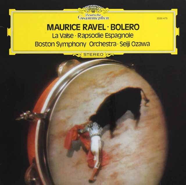 小澤のラヴェル/「ボレロ」ほか 独DGG 3321 LP レコード