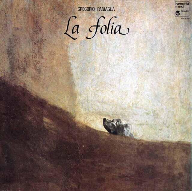 パニアグアの「ラ・フォリア」 仏HM 3321 LP レコード