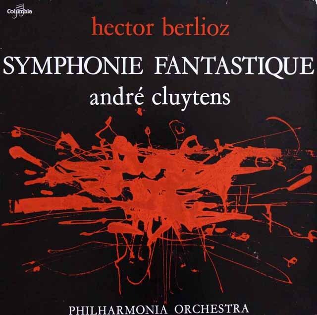 クリュイタンスのベルリオーズ/幻想交響曲 仏Columbia 3321 LP レコード