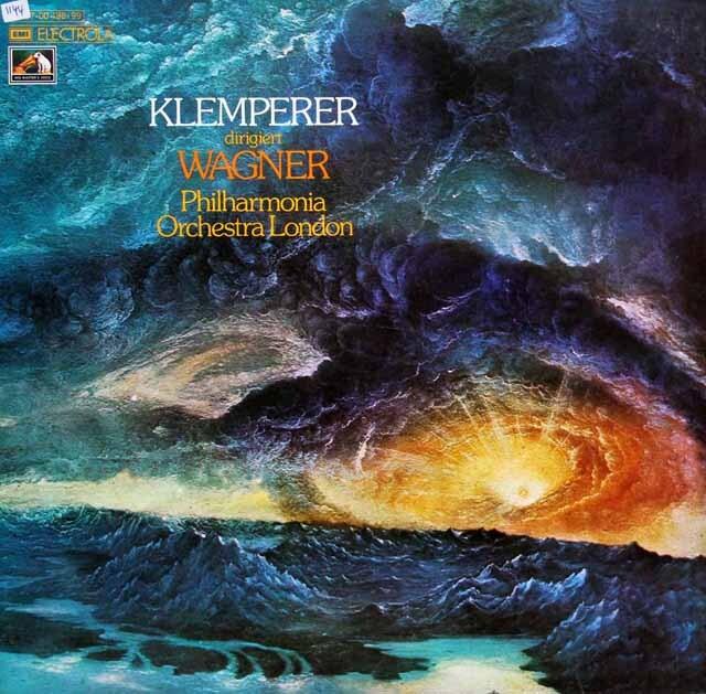 クレンペラーのワーグナー/管弦楽曲集 独EMI 3321 LP レコード