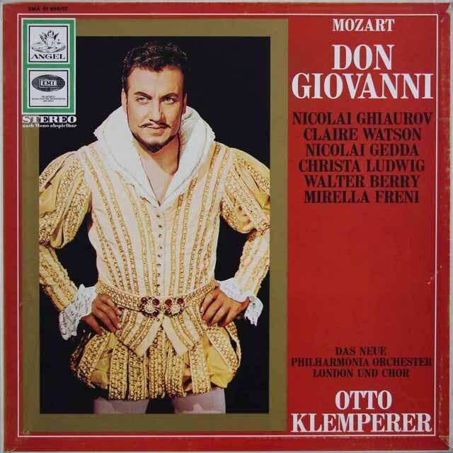 クレンペラーのモーツァルト/「ドン・ジョヴァンニ」全曲  独EMI 3321 LP レコード