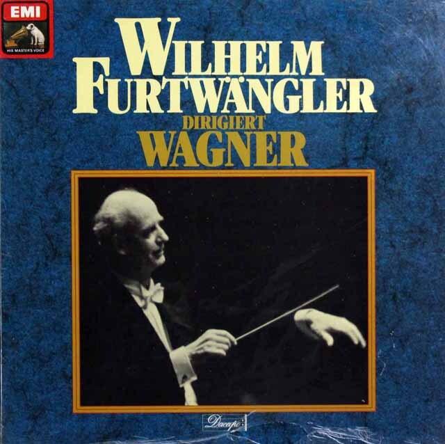 【未開封】 フルトヴェングラーのワーグナー名演集 独EMI 3321 LP レコード