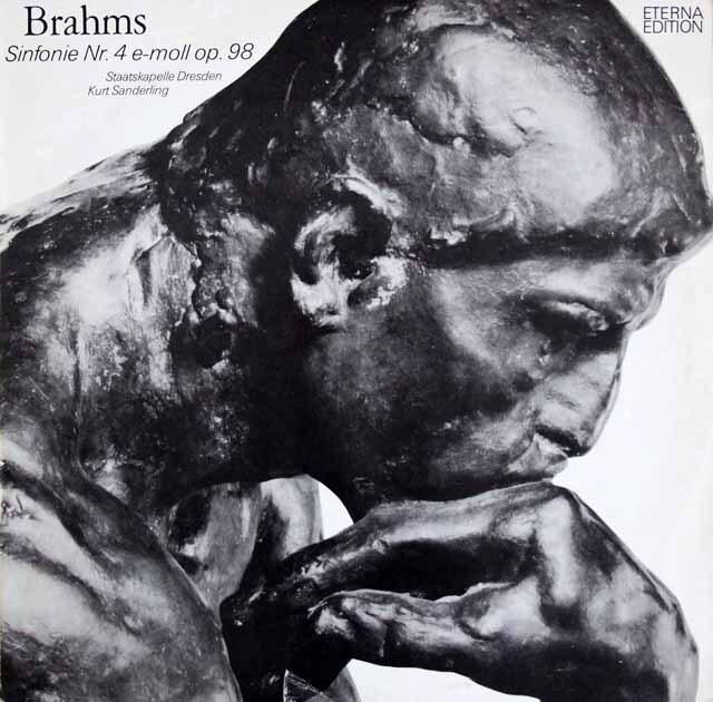 ザンデルリンクのブラームス/交響曲第4番 独ETERNA 3322 LP レコード