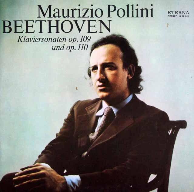 ポリーニのベートーヴェン/ピアノソナタ第30、31番 独ETERNA 3322 LP レコード
