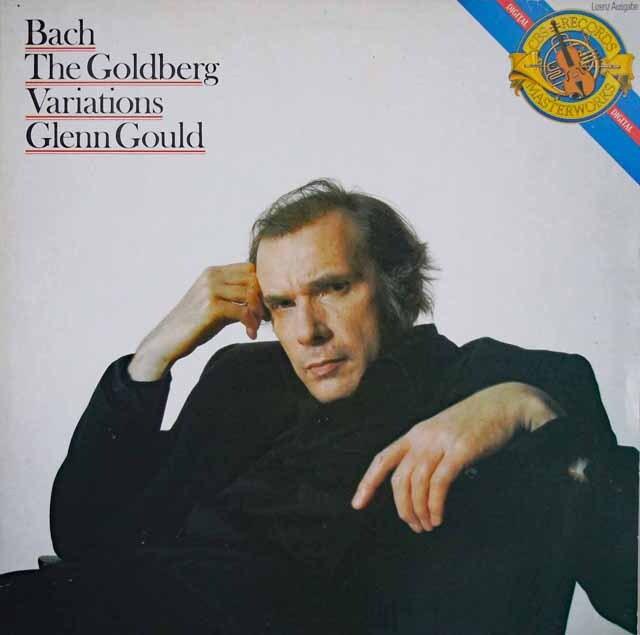 グールドのバッハ/ゴルトベルク変奏曲 独ETERNA 3322 LP レコード