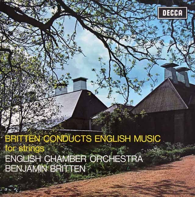 ブリテンのイギリス室内楽曲集 英DECCA 3322 LP レコード