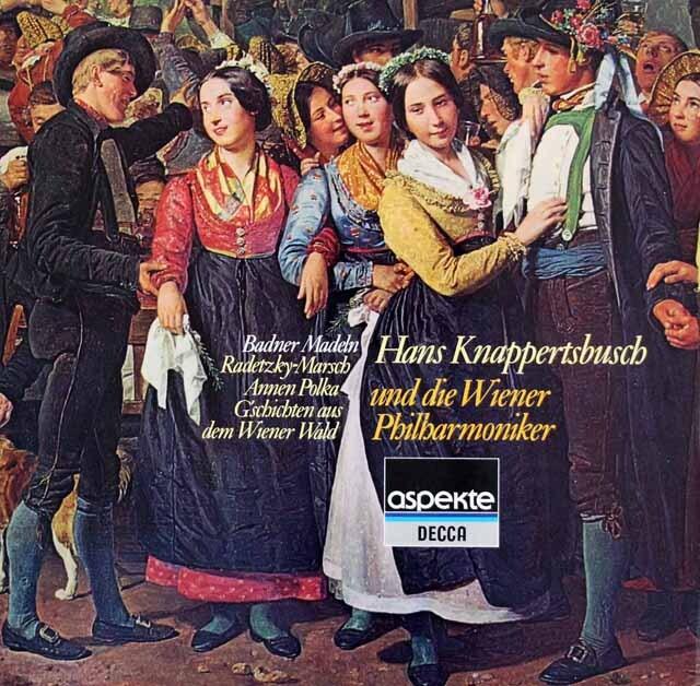 クナッパーツブッシュのチャイコフスキー/組曲「くるみ割り人形」ほか 独DECCA 3322 LP レコード