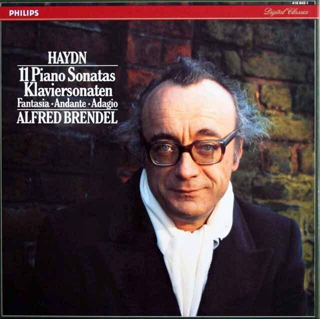 ブレンデルのハイドン/11のピアノ・ソナタ集ほか 蘭PHILIPS 3322 LP レコード