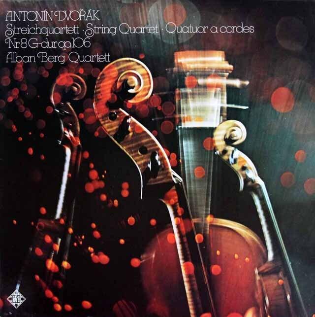 【内袋未開封】 アルバン・ベルク四重奏団のドヴォルザーク/弦楽四重奏曲第8番 独TELEFUNKEN 3323 LP レコード