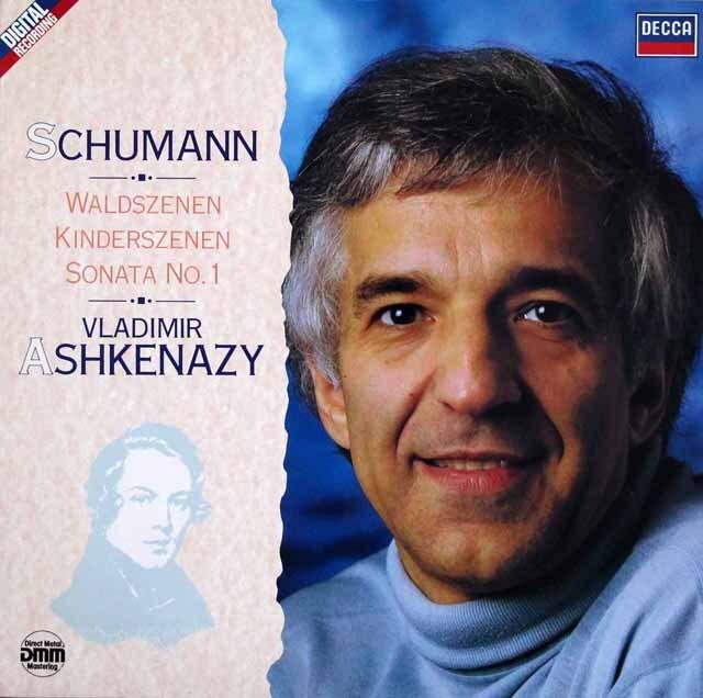【内袋未開封】 アシュケナージのシューマン/森の情景、子供の情景ほか 独DECCA 3323 LP レコード