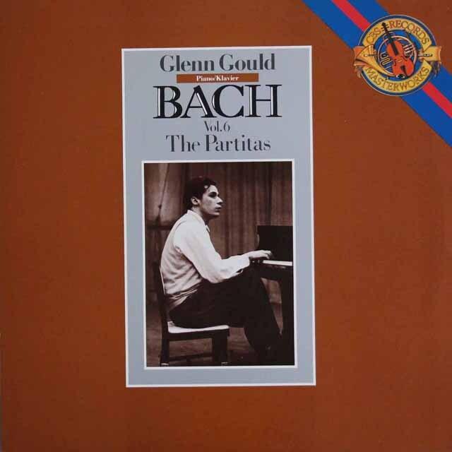 グールドのバッハ/パルティータ集 蘭CBS 3323 LP レコード