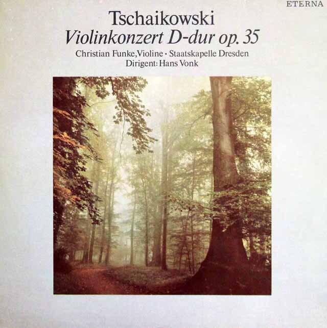 フンケ&フォンクのベートーヴェン/ヴァイオリン協奏曲 独ETERNA 3323 LP レコード