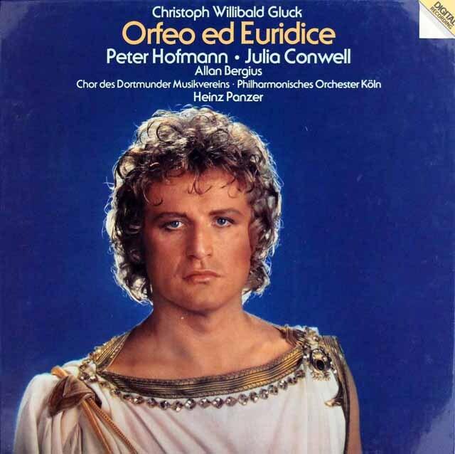 【未開封】 ペーター・ホフマンらのグルック/「オルフェオとエウリディーチェ」 独vipro 3323 LP レコード