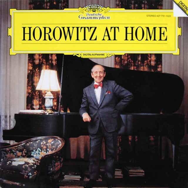 「ホロヴィッツ・アット・ホーム」 独DGG 3323 LP レコード