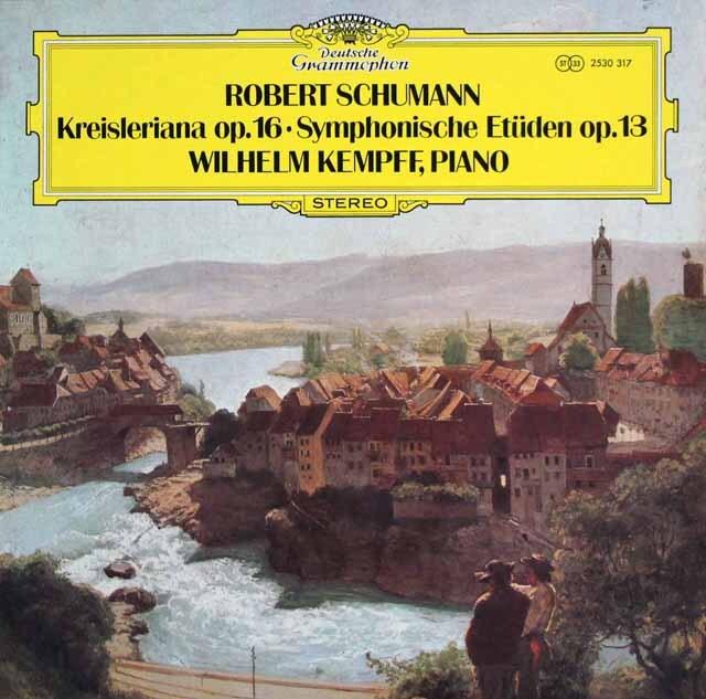 ケンプのシューマン/「クライスレリアーナ」&「交響的練習曲」 独DGG 3323 LP レコード