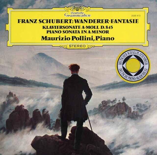 【内袋未開封】 ポリーニのシューベルト/幻想曲「さすらい人」ほか 独DGG 3323 LP レコード