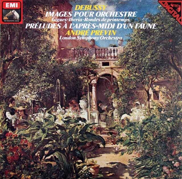 プレヴィンのドビュッシー/「牧神の午後への前奏曲」ほか 独EMI 3323 LP レコード