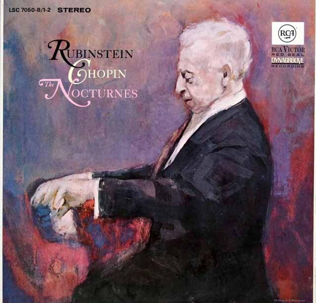 ルービンシュタインのショパン/ノクターン集 独RCA 3324 LP レコード