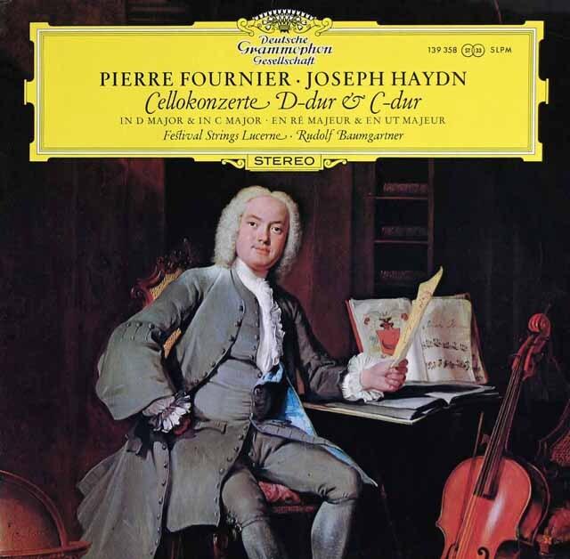 フルニエ&バウムガルトナーのハイドン/チェロ協奏曲第1、2番 独DGG 3325 LP レコード