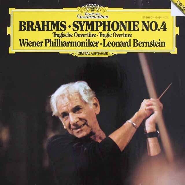 バーンスタインのブラームス/交響曲第4番ほか 独DGG 3325 LP レコード