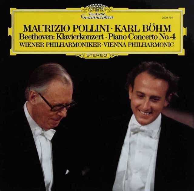 ポリーニ&ベームのベートーヴェン/ピアノ協奏曲第4番 独DGG 3325 LP レコード