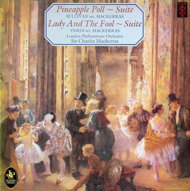 マッケラスのサリヴァン/「パイナップル・ポール」組曲ほか 英EMI 3325 LP レコード