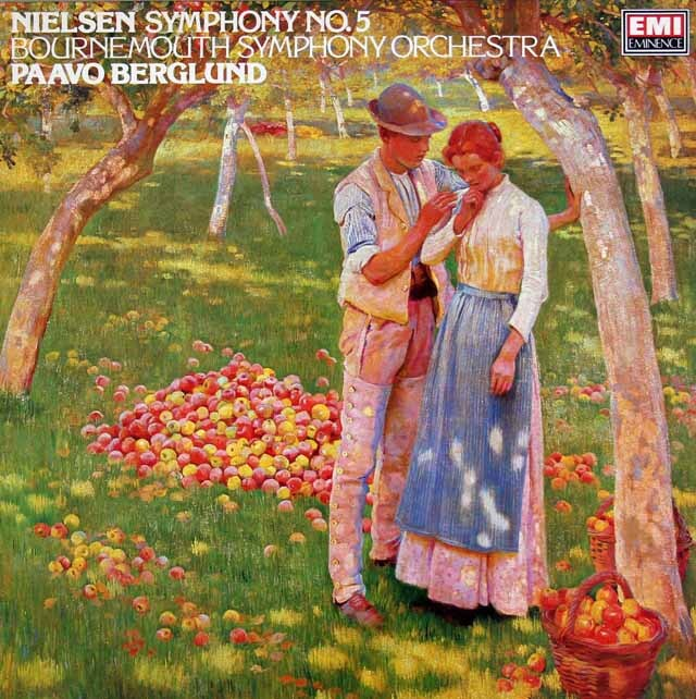 ベルグルンドのニールセン/交響曲第5番 英EMI 3325 LP レコード