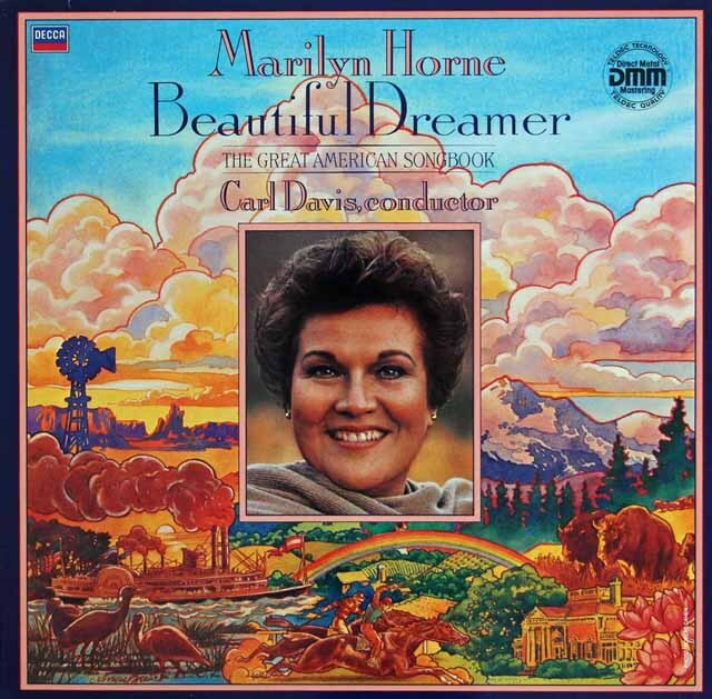 ホーンの「ザ・グレート・アメリカン・ソングス」 独DECCA 3325 LP レコード