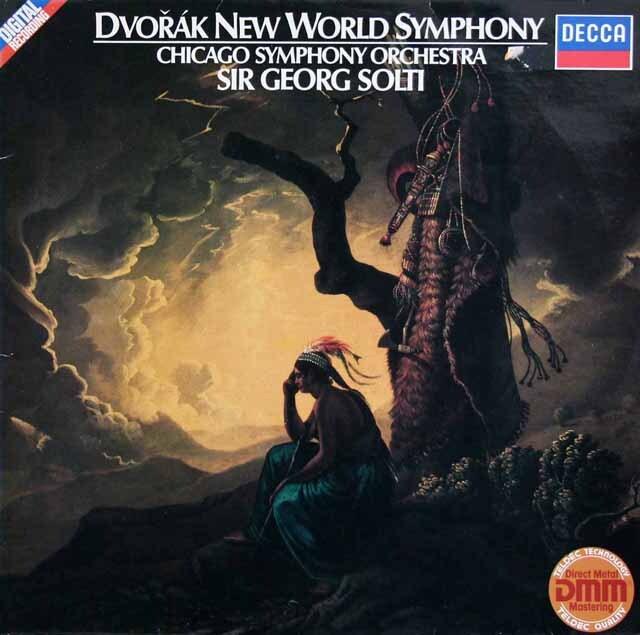 ショルティのドヴォルザーク /交響曲第9番「新世界より」  独DECCA 3325 LP レコード