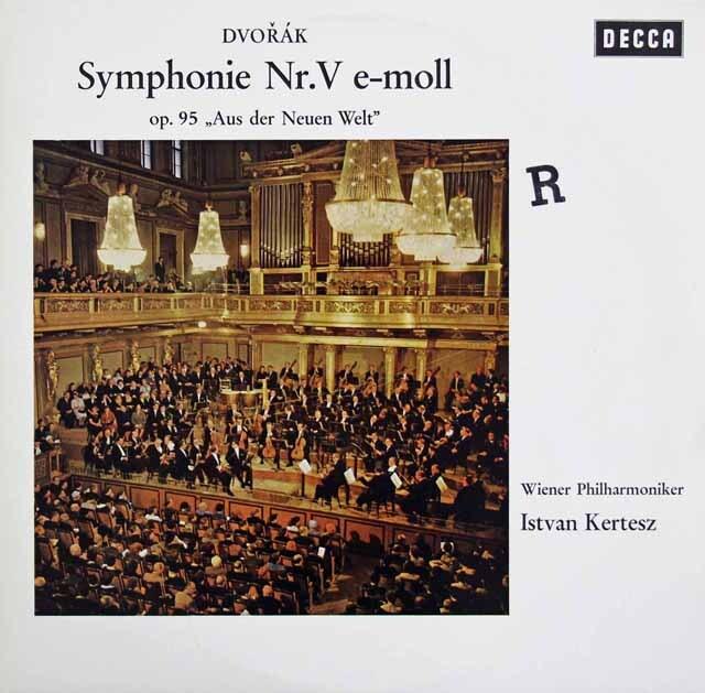 ケルテスのドヴォルザーク/交響曲第9(5)番「新世界より」 独DECCA 3325 LP レコード