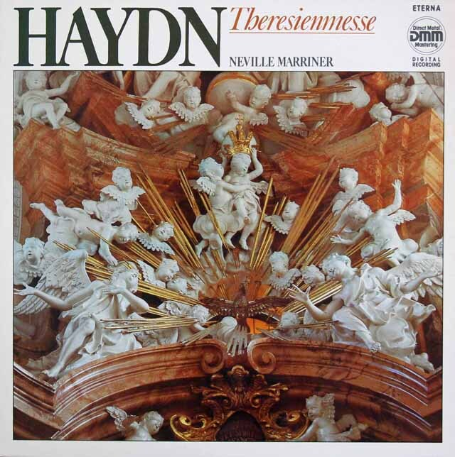 マリナーのハイドン/ミサ曲第12番「テレジア・ミサ」 独ETERNA 3325 LP レコード