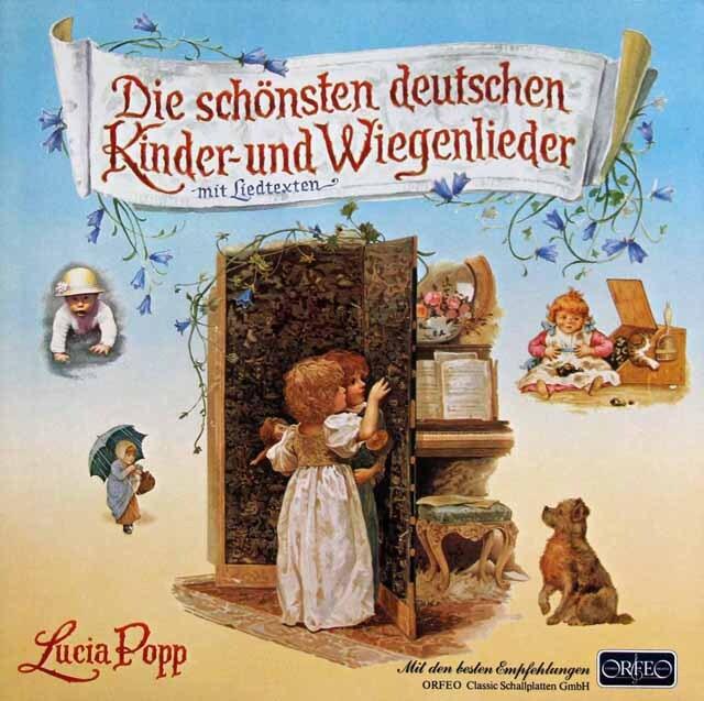 ポップのドイツの子供の歌と子守唄 独ORFEO 3325 LP レコード