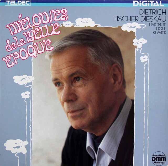 フィッシャー=ディースカウのベル・エポック歌曲集 独TELDEC 3325 LP レコード