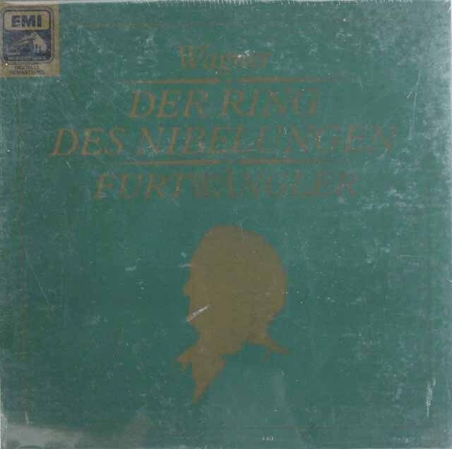 【未開封】 フルトヴェングラーのワーグナー/「ニーベルングの指環」(全曲) 独EMI    3325 LP レコード
