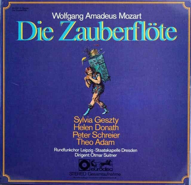 【未開封】 スウィトナーのモーツァルト/「魔笛」全曲  独eurodisc 3325 LP レコード