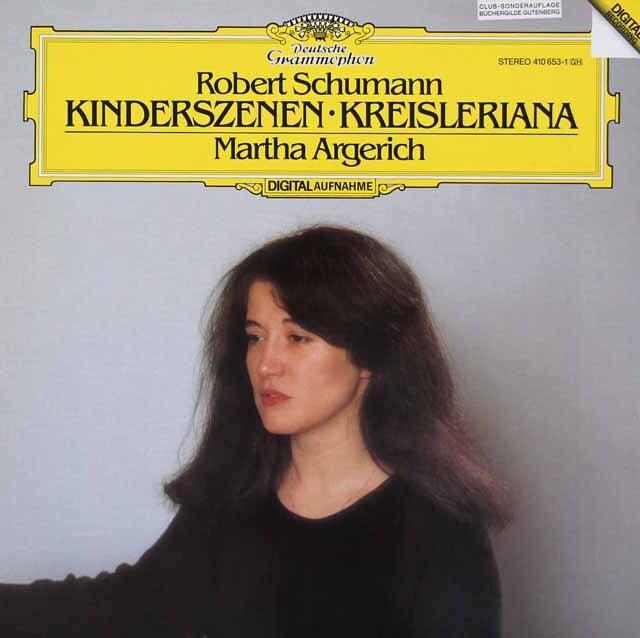 アルゲリッチのシューマン/「子供の情景」、「クライスレリアーナ」 独DGG 3326 LP レコード